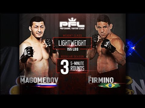 PFL Full Fight Friday: Rashid Magomedov vs. Luiz Firmino from PFL 5