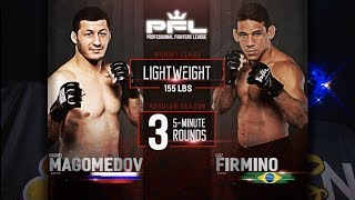 PFL Full Fight Friday: Rashid Magomedov vs. Luiz Firmino from PFL 5
