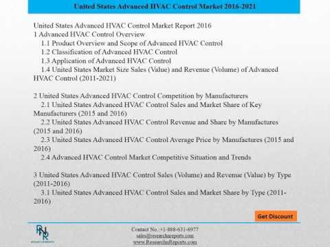 United States Advanced HVAC Control Market Report 2016