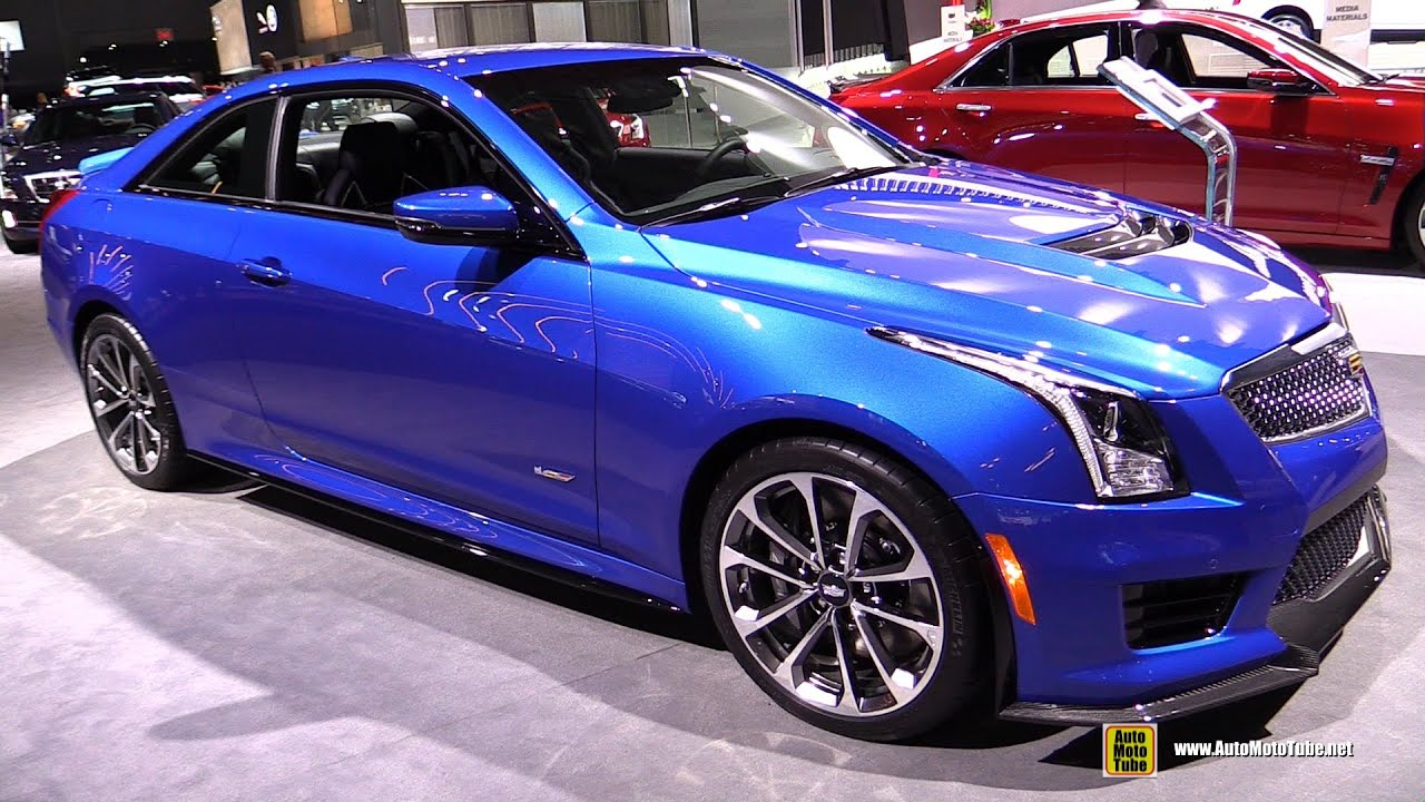 2016 cadillac ats v coupe exterior and interior walkaround 2016 new york auto show youtube. Black Bedroom Furniture Sets. Home Design Ideas