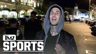 GGG Will Destroy Steroid-Cheater Canelo Alvarez, Says Travis Barker | TMZ Sports