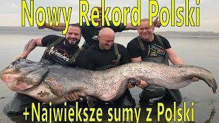 Nowy rekord Polski - sum 260 cm i 102 kg + największe sumy złowione w Polsce