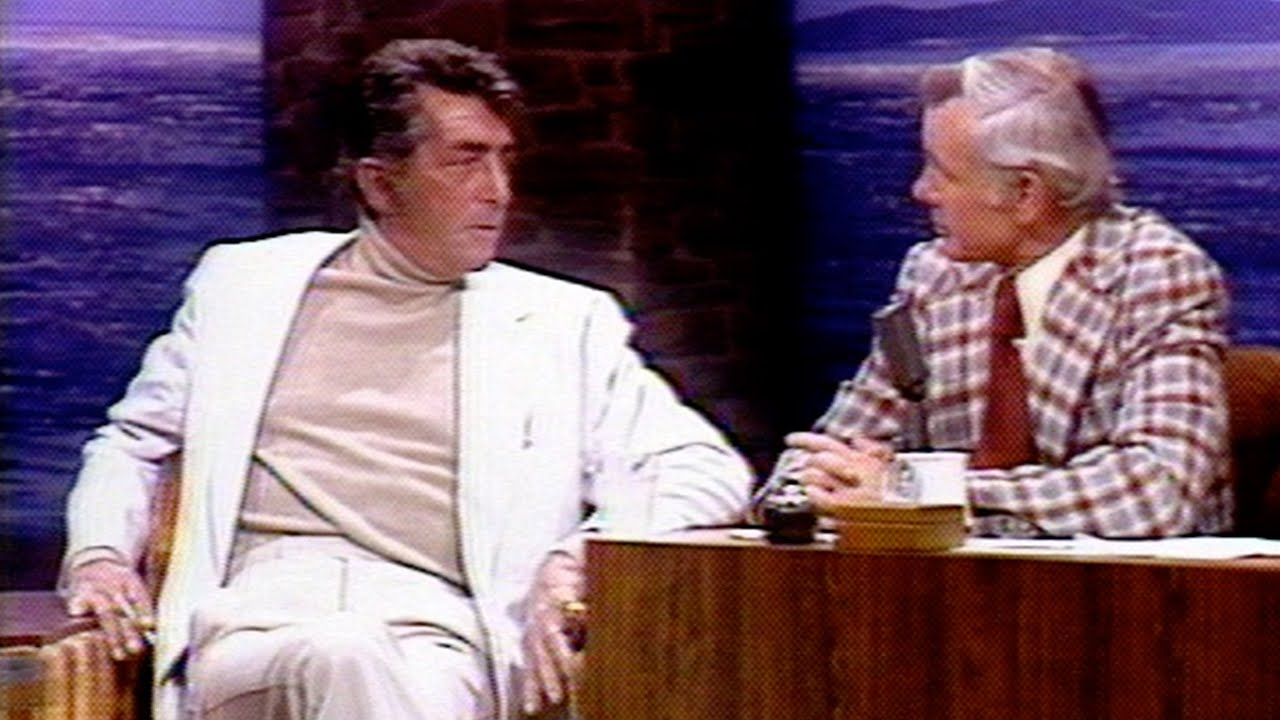Dean Martin Appears Very Drunk on The Tonight Show Starring Johnny Carson - 12/12/1975 - Part 02
