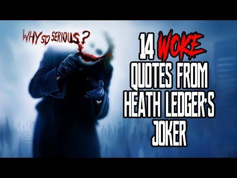 14 Woke Quotes From Heath Ledger's Joker