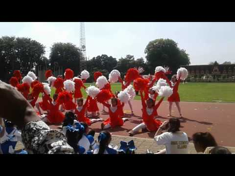 (SMK Convent Klang)2017 sport day red house cheer leading