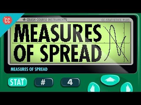 Measures of Spread: Crash Course Statistics #4