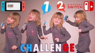 NINTENDO 1-2-SWITCH CHALLENGE entre père et fille • Athena va-t-elle battre son papa ? - #SBT