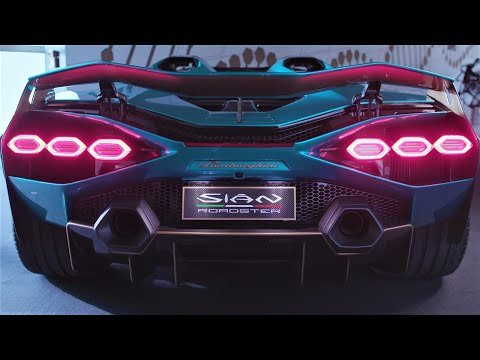 Lamborghini Sian Roadster – Breathtaking Super Sports Car