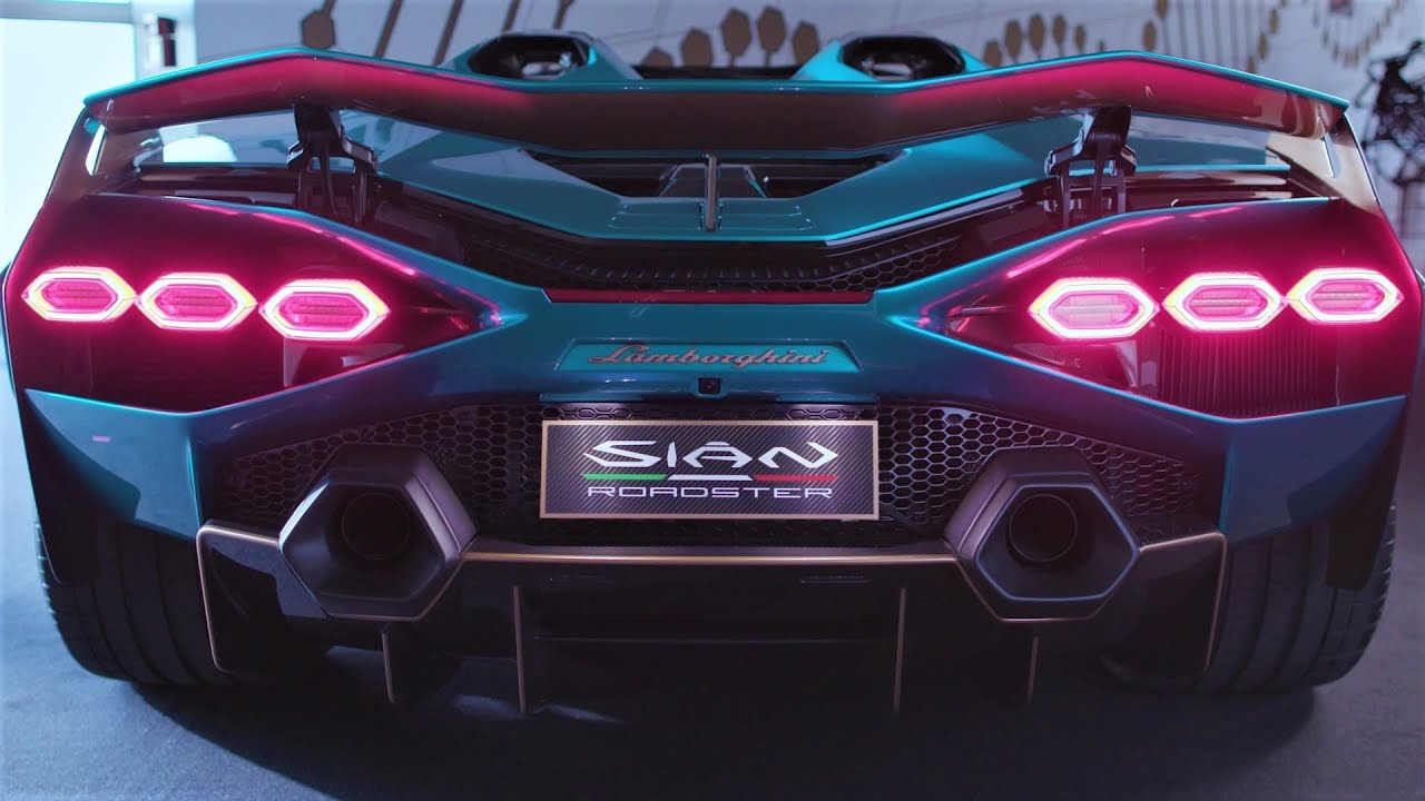 Lamborghini Sian Roadster - Breathtaking Super Sports Car