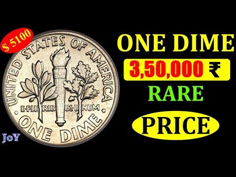RARE ONE DIME AMERICAN COIN MARKET VALUE
