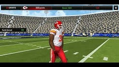 Doing KC Chiefs NFL MOVERS LIVE EVENT COMBINATION VIDEO  with NBA Live Mobile