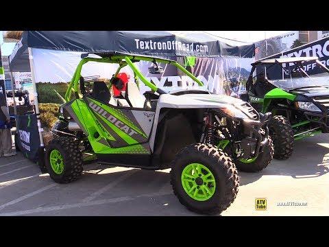 2018 Textron Wildcat Sport Side by Side ATV - Walkarond - 2017 SEMA