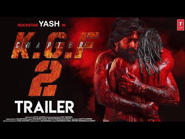 K.G.F Chapter 2 Official Trailer   Yash   Srinidhi Shetty   Sanjay Dutt   Prashanth N   Concept 2020