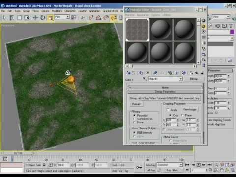 Fundamentals - Texture Tiling & Texture Size - 3ds Max Introduction Video Tutorial