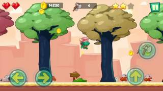 Jungle Adventures: Super World - Sahara Level 5... Gameplay (Free Game On Android)