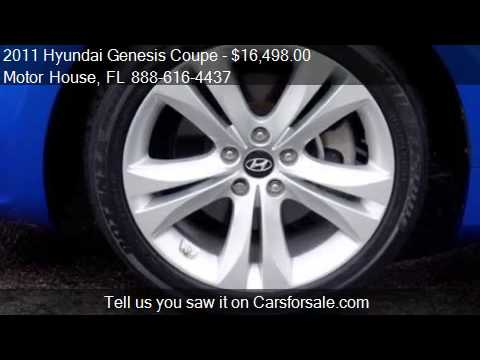 2011 Hyundai Genesis Coupe 2.0T - for sale in PLANTATION, FL
