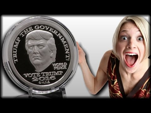 WOW! TRUMP JUST GOT HIS OWN SILVER 'DOLLAR' AND HE'S NOT EVEN PRESIDENT YET!