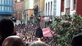 SEMANA SANTA Candás Procesión Virgen del Rosario SÁBADO SANTO