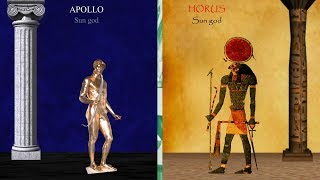 Greek Olympian Gods Identified as Egyptian