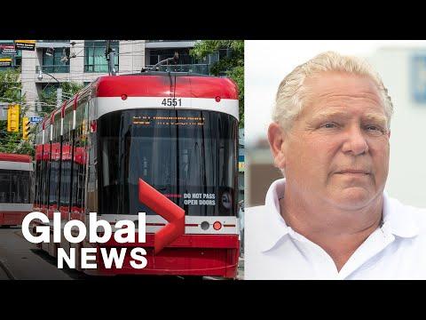 Coronavirus: Ontario pledes $1.6B for municipalities, including funding for transit | FULL