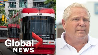 Coronavirus: Ontario pledges $1.6B for municipalities, including funding for transit | FULL