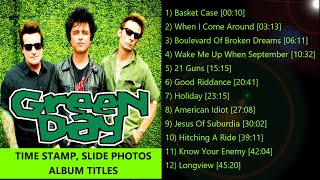 Green Day Greatest Hits Playlist
