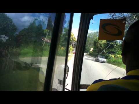 Tonga Bus to the Airport 2