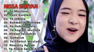 Download lagu Full Album Nissa Sabyan Terbaru 2018 ~ Sholawat Ya Habibal Qolbi, Deen Assalam