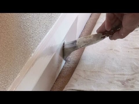 how to cut skirting corners
