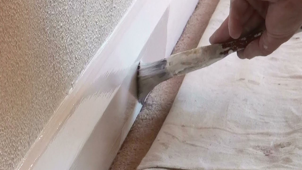 How To Paint Baseboards Or Skirting Boards On Carpet The Trick Doing It You