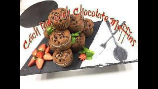 Cách làm bánh Chocolate Muffins -Bếp Mai Bakery
