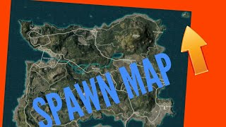 What inside the spawn island in PUBG MOBILE??