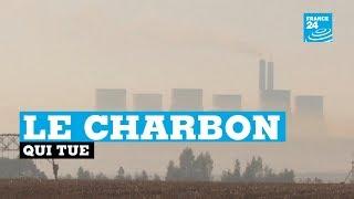 La population prisonnière d'une pollution mortelle au charbon en Afrique du Sud
