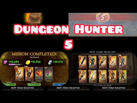 Dungeon Hunter 5 Lots Of Chests Opening