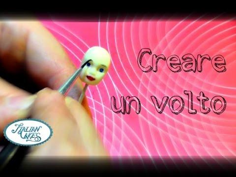 Creare un volto in pdz semplice (stampino) by ItalianCakes