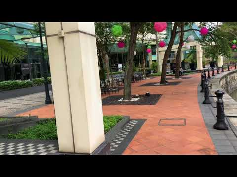 Hotel Grand Copthorne Waterfront by Singapore River & RiverGate Condominium 4K Video
