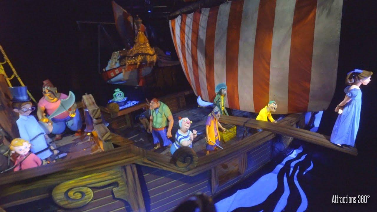Peter Pan Flying Dark Ride - Magic Kingdom 2020 - Walt Disney World