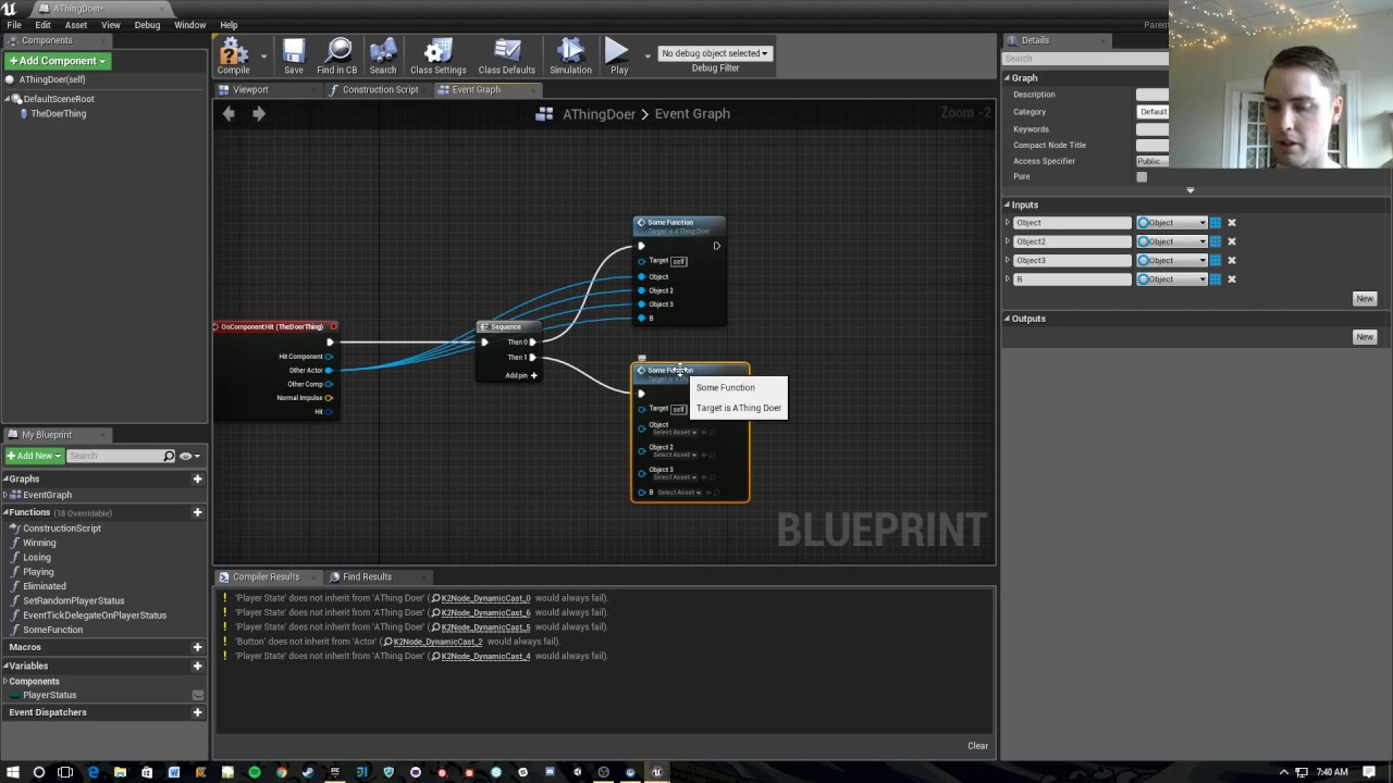 Unreal engine 4 quick how to keep blueprints clean avoiding how to keep blueprints clean avoiding node spaghetti malvernweather Choice Image