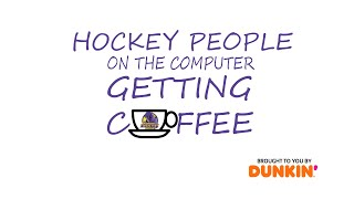 Hockey People On the Computer Getting Coffee: Episode 1 (Brad Patterson)