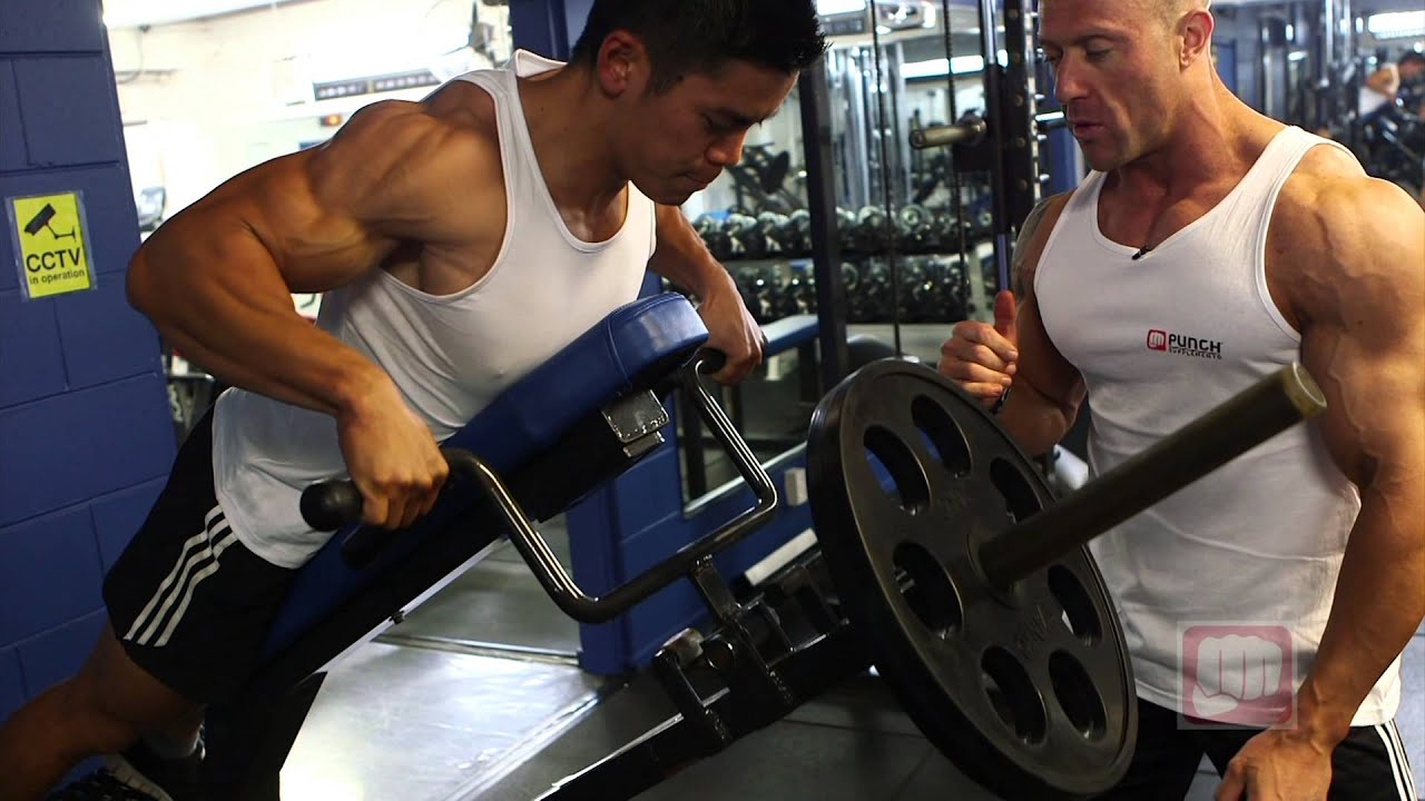 Wide Grip T Bar Row - ...T Bar Rows