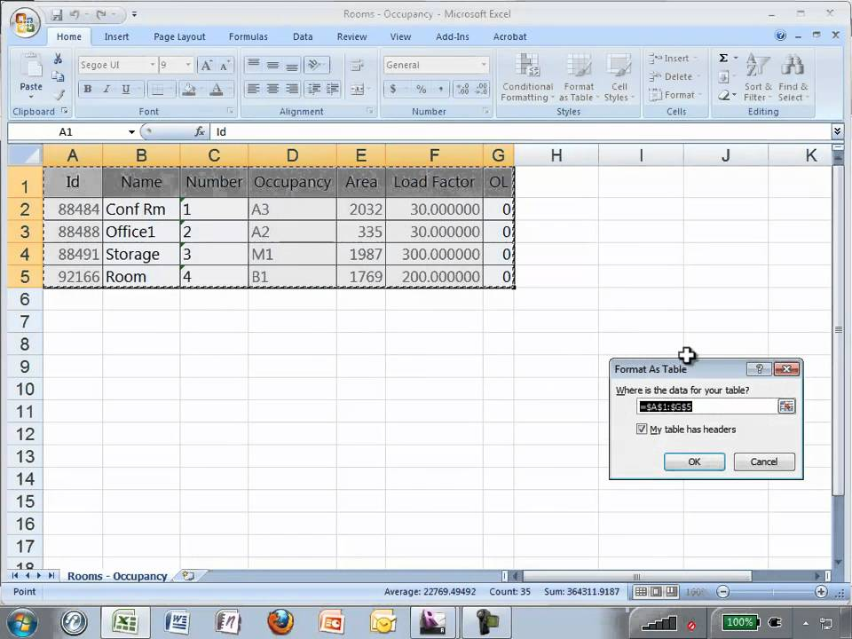 Occupancy Calculation In Revit