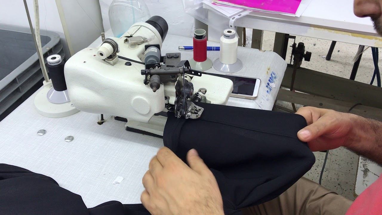 MAIER KL-221 PAÇA BASKI MAKİNASI - BLINDSTITCH SEWING MACHINE - Подшивочных ШВЕЙНЫЕ МАШИНЫ