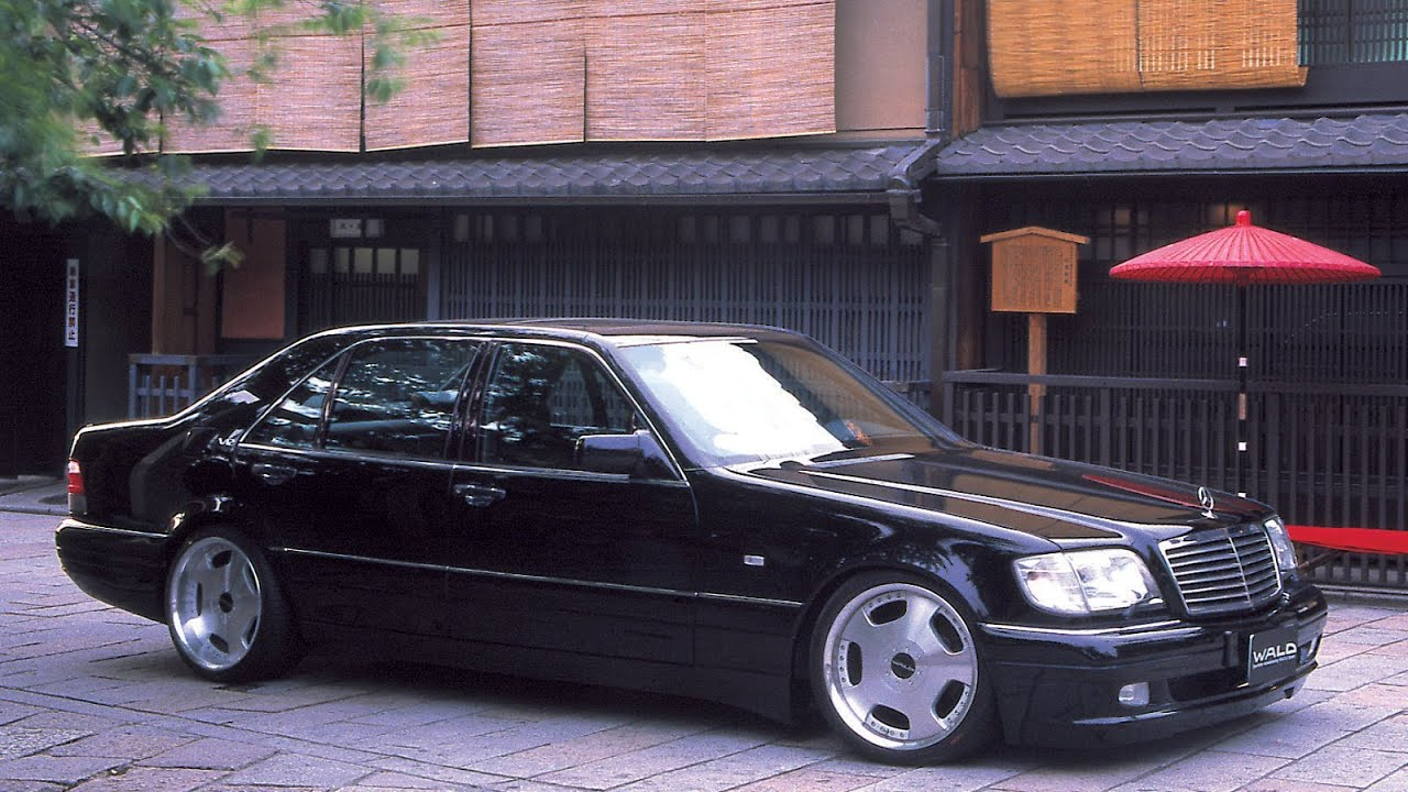 WALD Mercedes-Benz S-Class W140 (2001) - YouTube
