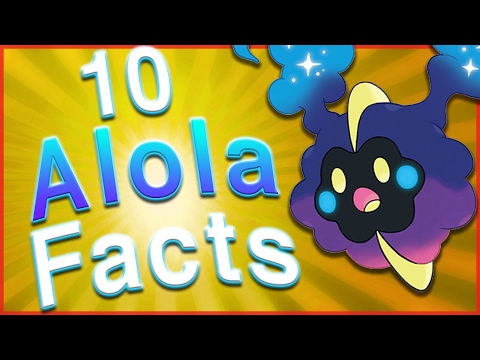 10 Interesting Facts About the Alola Region!