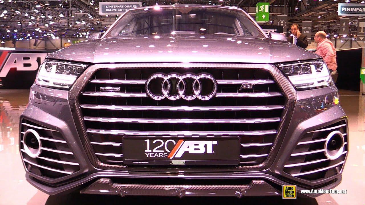 2016 Audi Q7 Abt Sq7 Exterior And Interior Walkaround