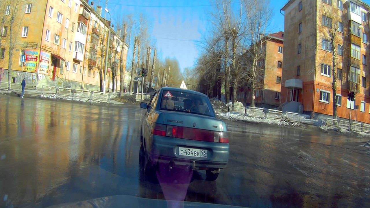 экзамен вождение по городу