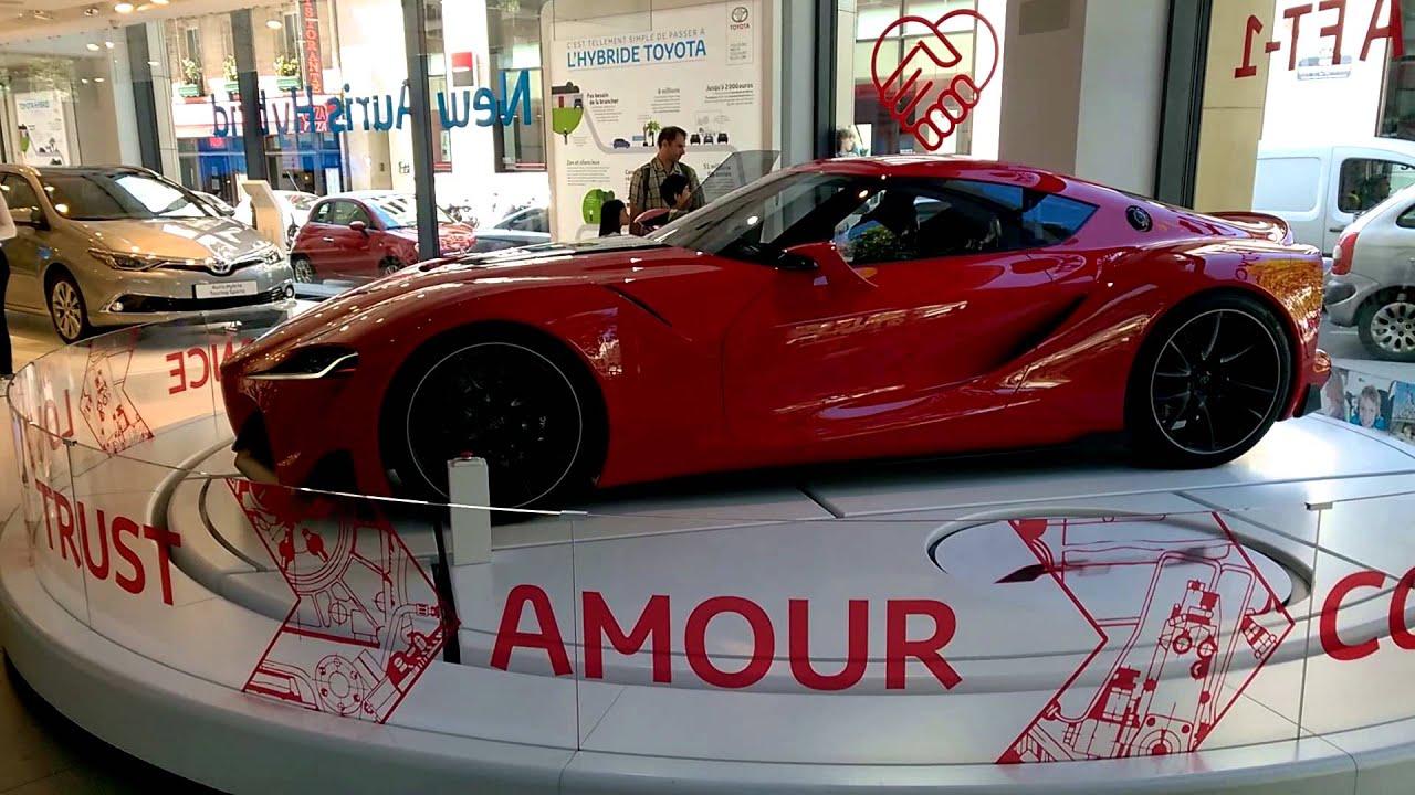 Toyota FT Champs élysées Paris WP Pro YouTube - Toyota ft1 price estimate