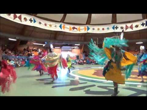 Siksika Pow Wow Day 2 Jr Adult Ladies Fancy Dance