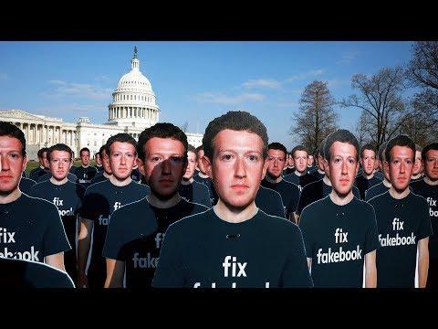 Марк Цукерберг в Сенате США об утечке данных Facebook | 10.04.18
