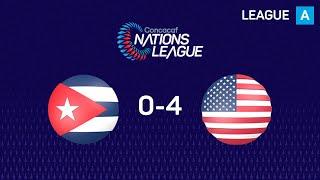 #CNL Highlights - Cuba 0-4 United States